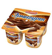 Йогурт Эрмигурт Экстра Пудинг Королевский шоколад 3,2% 4*100гр. ООО Эрманн