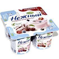 Продукт йогуртный Кампина Нежный 1,2% ягодное мороженое 100гр. ООО Кампина