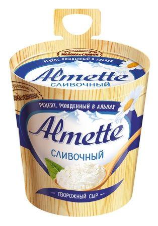 Сыр Альметте плавл. сливочный 60% 150г