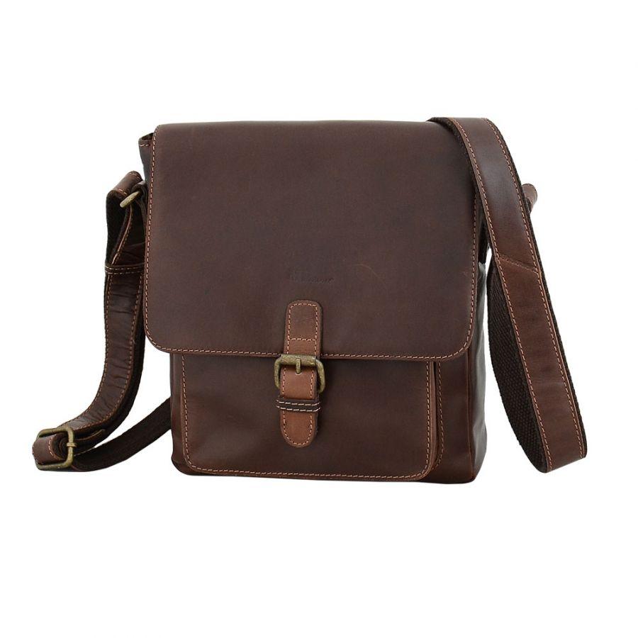 Кожаная мужская сумка Marta Ponti C29P010 Castanho