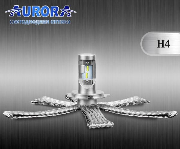 Комплект автомобильных светодиодных ламп Aurora ALO-G10-H4Z 16000Lm 6500K