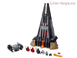Конструктор LEPIN Star Wars Замок Дарта Вейдера 05152 (Аналог LEGO Star Wars 75251) 1187 дет