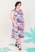Платье арт.0906-95 пионы, вискоза