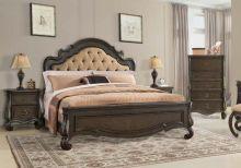 Спальня TORRECILLA комплект из 4 элементов (180*200, тумба 2 ящика, стол туал.+зерк.)