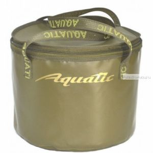 В-05 Ведро Aquatic для замешивания корма (герметичное, с крышкой)