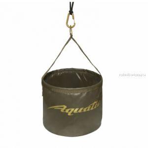 В-08 Ведро Aquatic для замешивания корма (герметичное, с шнуром на карабине)