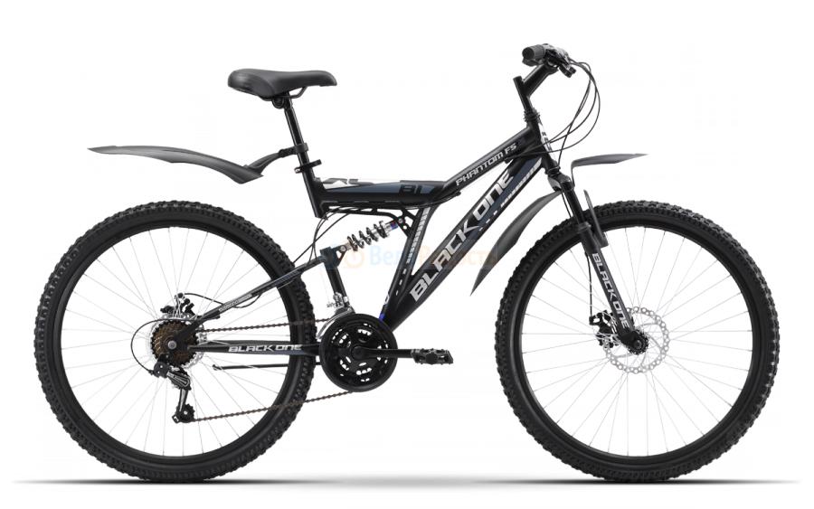 Велосипед двухподвес Black One Phantom FS 26 D (2019)