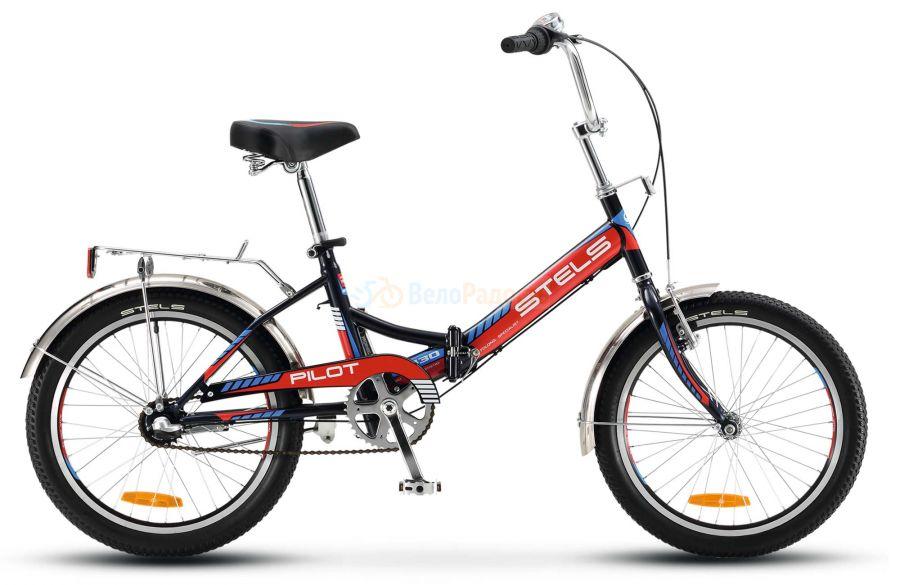 Велосипед складной Stels Pilot 430 20 V010 (2018)