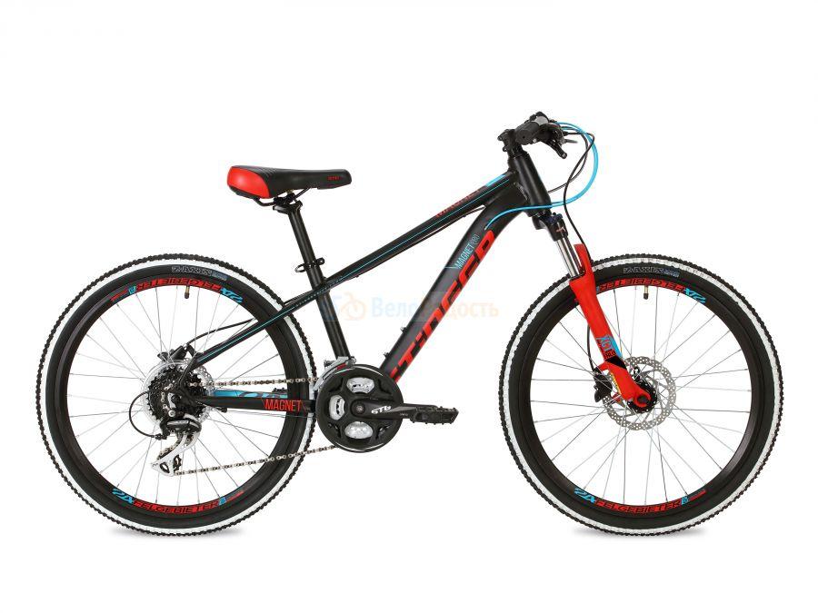 Велосипед подростковый Stinger Magnet Pro 24 (2018)