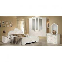 Спальня ЩАРА 4-дверный шкаф, эмаль