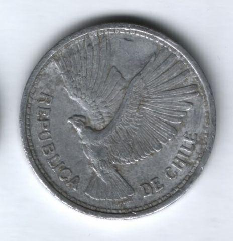10 песо 1956 года Чили