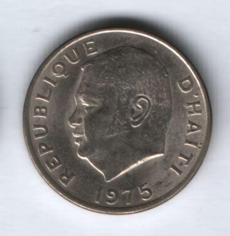 10 сантимов 1975 года Гаити AUNC