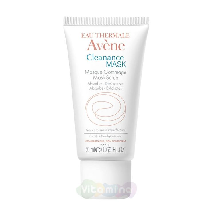 Avene Cleanance Masque Mask - Маска-скраб для глубокого очищения