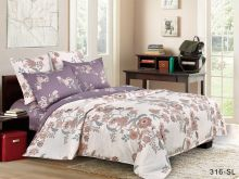 Комплект постельного белья Сатин SL 2-спальный  Арт.20/316-SL