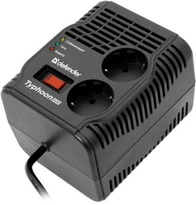 Стабилизатор напряжения AVR Initial 600 200 Вт, 2 розетки