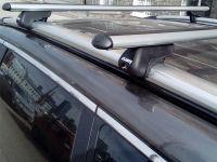 Багажник на крышу Haval H6, Атлант, аэродинамические дуги на рейлинги