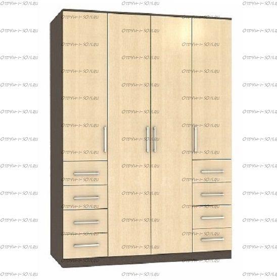 Шкаф четырехдверный Рома 4.8 (160х52х200)