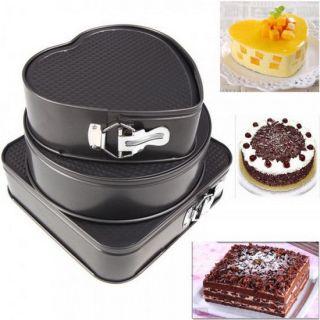 Набор фигурных форм для выпечки Cake Mould, 3 шт
