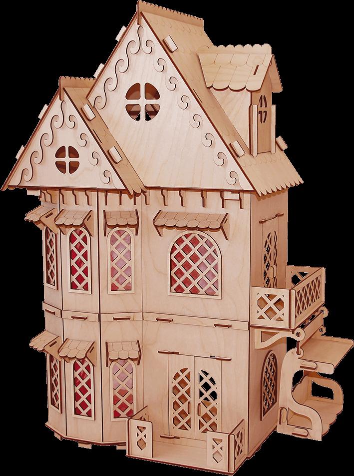 """Кукольный домик  """"Дом принцессы"""""""