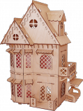 Кукольный домик  Дом принцессы
