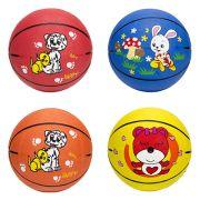 Мяч баскетбольный детский, резина р.3, 17см