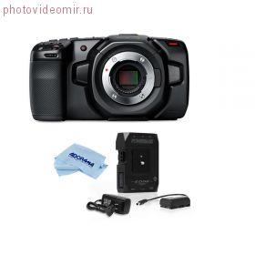 Blackmagic Design Pocket Cinema Camera 4K с универсальной батареей 14.8V 49Wh