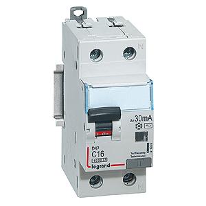 411028 Дифф.выключатель (УЗО) DX3 1П+Н C40А 300MA-AC, Legrand