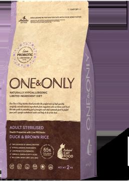 ONE & ONLY Sterilised Утка с Рисом
