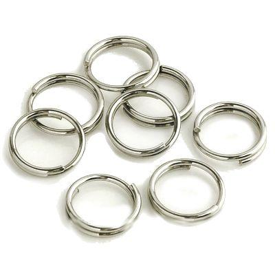 Колечки соединительные, двойные, Никель, 30 шт/упак.