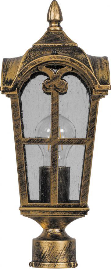 Светильник садово-парковый Feron PL104 четырехгранный на столб
