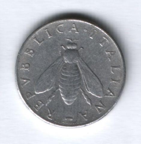 2 лиры 1954 года Италия