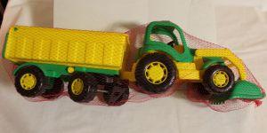 ! трактор с прицепом крепыш, ячейка: 9
