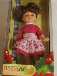 ! кукла эля весна, ячейка: 32