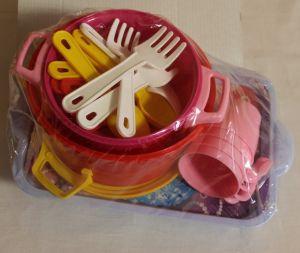 ! набор посуды хозяйка 4персоны, ячейка: 39