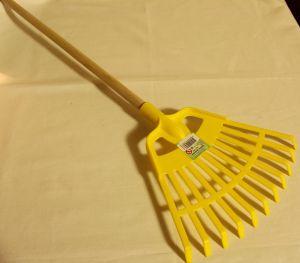 ! грабли веер желт, ячейка: 93