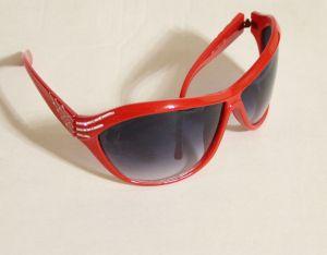 ! женс очки солнцезащ крас 02, ячейка: 143