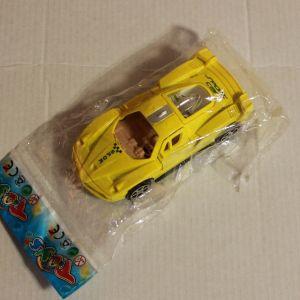! машинка желт инерц 10см, ячейка: 13