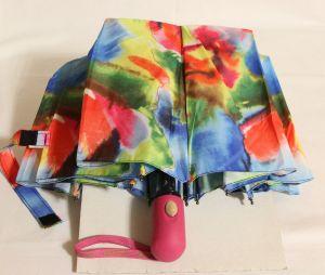 ! зонт женс полуавтомат цв разводы 10спиц, ячейка: 144