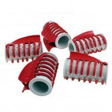 Термобигуди с крабом, 5 шт, Вид: № 3, диаметр 4 см