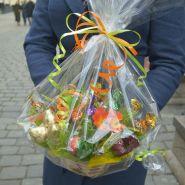 Букеты из конфет учителям №601