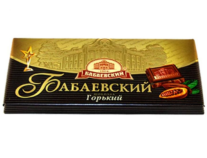 Шоколад Бабаевский Горький 100г