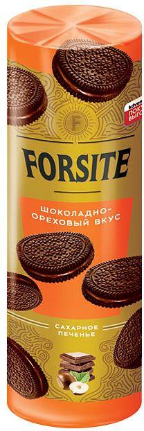 Печенье FORSITE сэндвич с шоколадно-ореховым вкусом 208г Яшкино