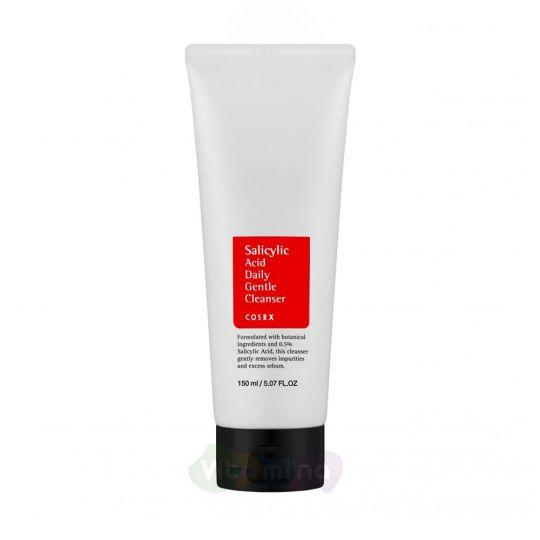 CosRX Пенка для умывания с салициловой кислотой Salicylic Acid Daily Gentle Cleanser, 150 мл