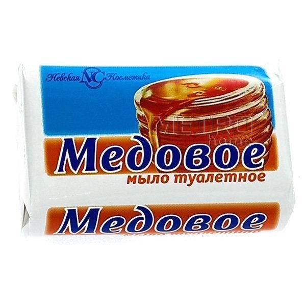 Мыло Медовое 90г Невская косметика