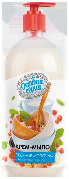 Мыло жидкое Особая серия Овсяное молочко доз. 1000мл