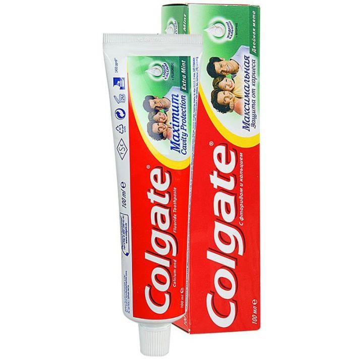Зуб. паста Colgate 100мл Защита от кариеса двойная мята