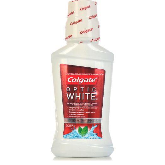 Ополаскиватель д/рта Colgate 250мл Optic White