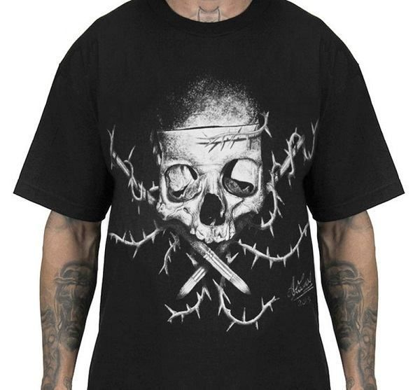Modesti Badge Men's Black Tee by Sullen