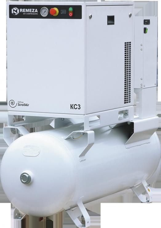 Спиральный безмасляный компрессор КС5-8-(10)270Д
