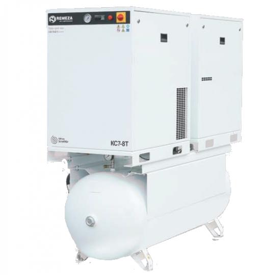 Спиральный безмасляный компрессор КС7-8(10)-500ТМ